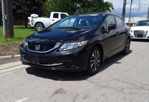 2013 Honda Civic EX.Sunroof.Back up Camera. Well Maintained.