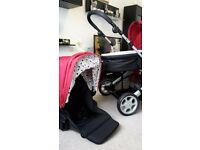 Mamas&Papas Pixo Pushchair and Carrycot Package 2in1 - Red
