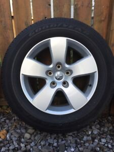 Tires and Rims 20 Inch from a Dodge Ram 1500