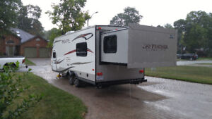 Jayco X213 travel trailer with king bed, bunks and much more