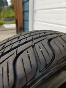 80% Tread on P185/60R14 82T Toyo Spectrum M+S Tires