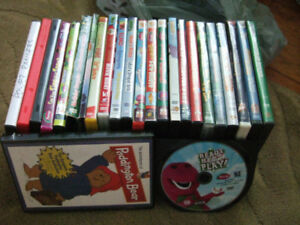 Kids DVDs- all 25 cents each