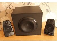 Logitech z623 PC Speakers and subwoofer.