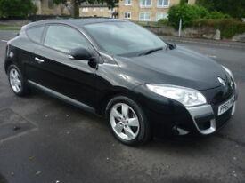 Renault Megane 1.5 DCI 110 BHP DYNAMIQUE TOMTOM **High Spec Model** (black) 2010