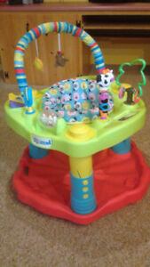 Exersaucer and jolly jumper