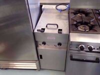 TWIN TANK COMMERCIAL CHIPS VALENTINE FASTFOOD CATERING FRYER MACHINE CAFE DINER SHOP BAR FASTFOOD