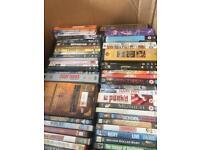 230 original boxed dvds, lots of box sets