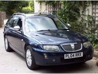 2004 ROVER 75 CDTi CONNOISSEUR SE ESTATE AUTOMATIC WITH CRUISE CONTROL LEATHER Etc (BMW DIESEL)