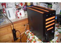 Quad Core Gaming PC, Phenom II x4 2.8GHz, 4GB RAM, 500GB, Windows 10, Radeon HD 5770 1GB GDDR5 GPU