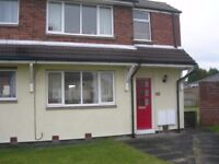 **NO FEES TO TENANTS** TWO BEDROOM SEMI DETACHED HOUSE OVERLOOKING THE VILLAGE GREEN AT BYERS GREEN