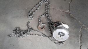 1 1/2 ton chain hoist