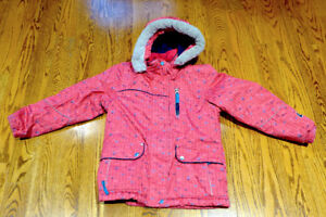 Jupa Girls Ski Jacket Size 7 - Excellent Condition