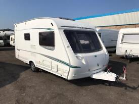 2005 ABBEY GTS 215 - 2 BERTH SINGLE AXLE LIGHTWEIGHT TOURING CARAVAN - MOTOR MOVER & AWNING