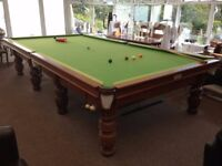Premier Snooker table (full size) by H. Nelmes & Co