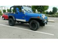 Jeep wrangler yj 2.5 4x4 soft top