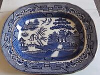 Staffordshire Willow Pattern Plate
