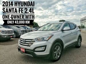 2014 Hyundai Santa Fe Sport 2.4L  One-Owner, No Accidents
