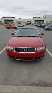 2003 Audi A4 cuir beige Cabriolet TURBO