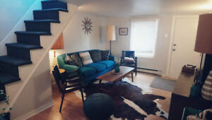 All-Inclusive 2-story apt with parking and laundry