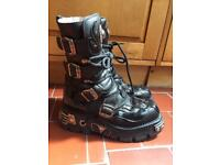 New Rock boots size 7