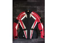 Men's Spada Motorcycle jacket virtually new