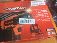 Snap on impact gun