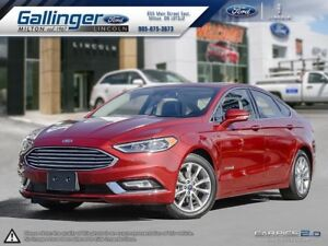 2017 Ford Fusion SE w/NEARLY EVERY AVAILABLE OPTION!!!