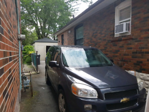 Chevy uplander Ls with remote starter and4 semi new winter tires