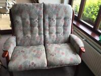 Sofa and matching chair for Sale