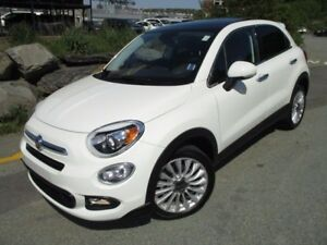 2016 Fiat 500 X LOUNGE (FRONT-DRIVE, HEATED LEATHER SEATS, HEATE