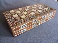 Backgammon/chess board