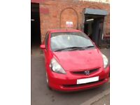 2004 HONDA JAZZ 1.4 DSi MANUAL L13A MILANO RED R81 BREAKING FOR PARTS