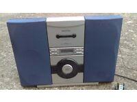 Matsui CD Player Cassette Player Recorder FM Radio