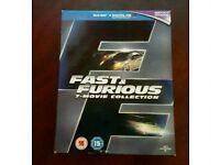 Fast and Furious blu ray box set