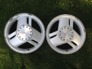 "Sunfire factory 16"" rims in good condition. $50./pair."