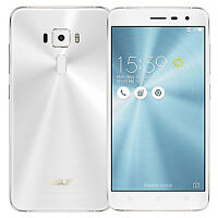 Lost white Asus Zenfone 3 with clear case