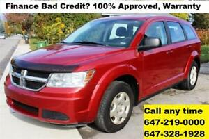 2010 Dodge Journey SE Auto FINANCE 100% APPROVED WARRANTY MINT