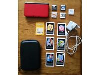 Nintendo 3DS XL with 5 Games, Augmented Reality Cards, Case, & Charger