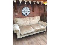 Laura Ashley Kingston velvet sofa
