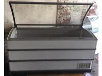 Large catering chest freezer 1.7m