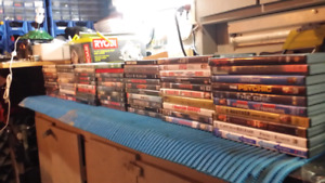 Dvd movies - over 80 great titles.