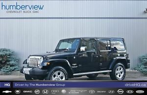 2014 Jeep Wrangler Unlimited Sahara NAVI|ALPINE SOUND|LOW KM|