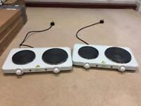 Portable Double hot plates - 1 left only