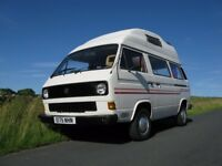 Beautiful VW T25 / T3 Campervan, professional Autohomes conversion, 4 berth, 1.9L, 12 months MOT