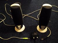 Computer Speakers USB 2.0 & Main powered for £10