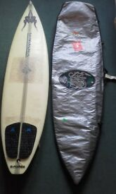 Surfboard 6'6'' (2m), Nirvana, Graham Smith, 1996