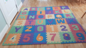 Alphabet and Numbers Foam Mats