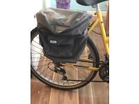 Bike panniers and mount