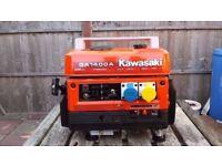Kawasaki Portable Suitcase Generator GA1400A Generator Immaculate Condition