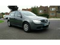 2005 VW Golf 1.6 FSi six Speed five door 92000 miles Px Considered